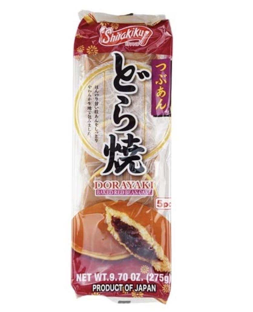 ❄Shirakiku 红豆铜锣烧 ~275g(9.7oz) Shirakiku DORAYAKI BAKED RED BEAN CAKE 275g(9.7oz)