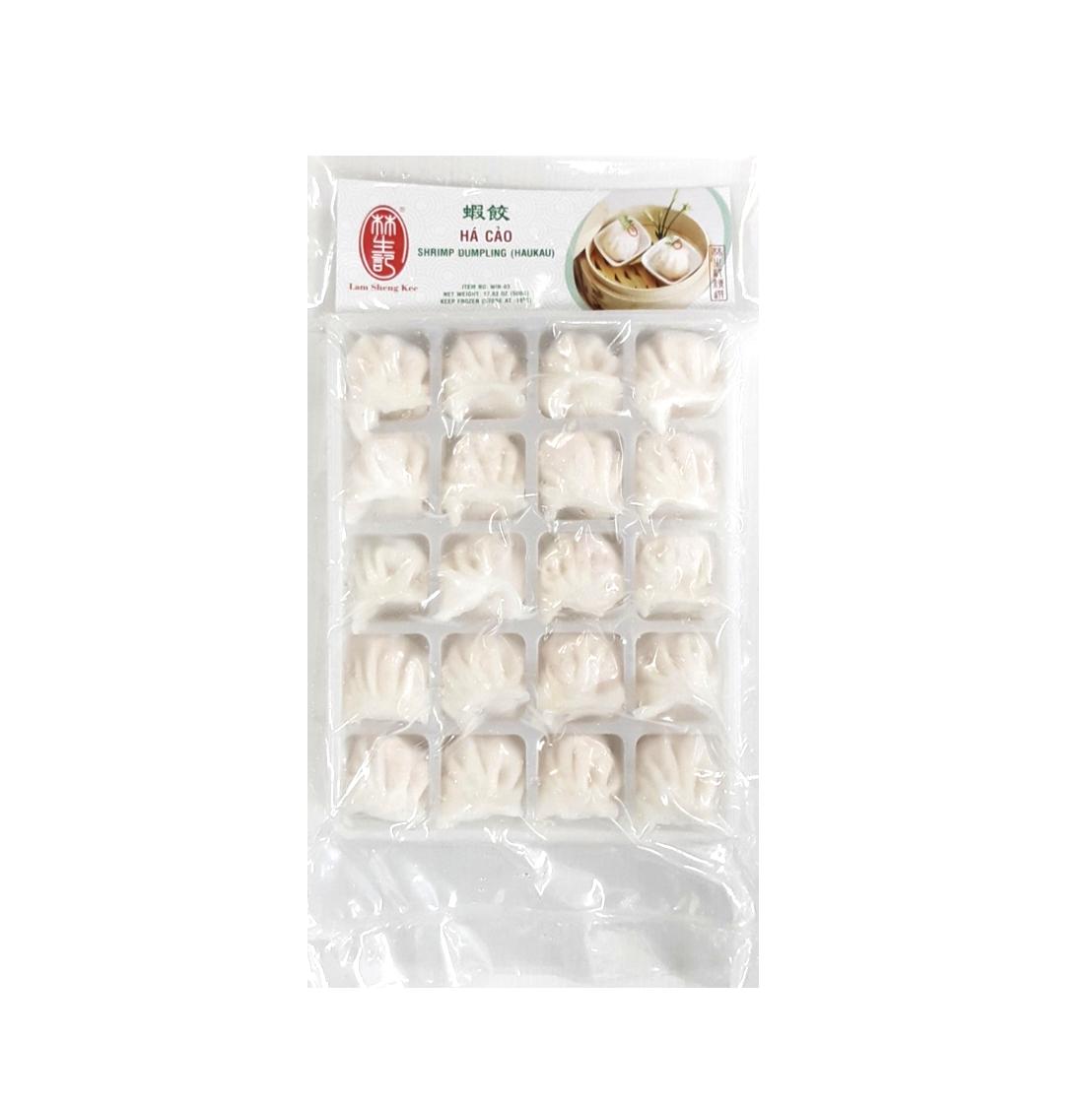 林生记 虾饺 ~500g(17.6 oz) Shrimp Dumpling (HAUKAU) 500g(17.6 oz)