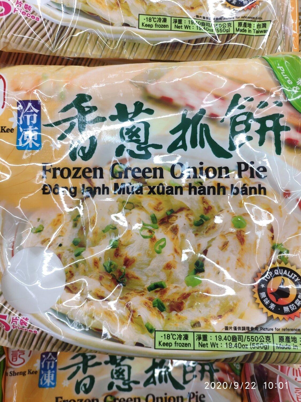 林生记 香葱煎饼 ~440g(15.5oz) SCALLION PANCAKE 440g(15.5oz)