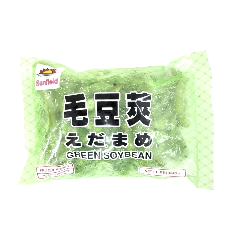 毛豆荚 ~454g(1lb) Sunfield GREEN SOYBEAN 454g(1lb)