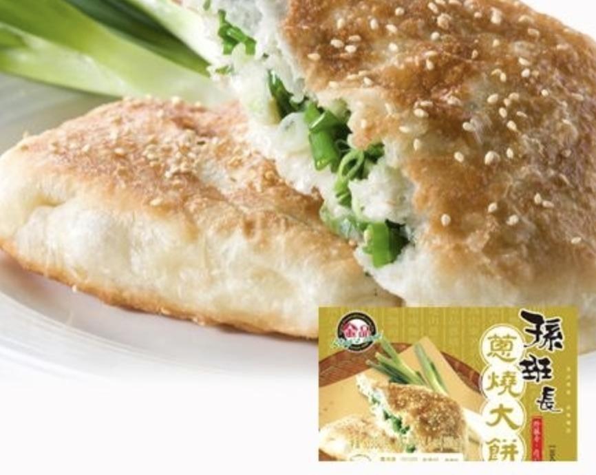 金品 孙班长葱烧大饼 ~330g Spring Onion & Sesame Pancake 330g