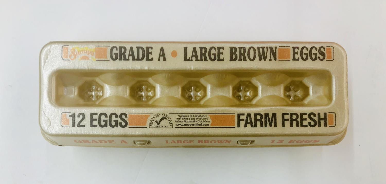 大黄鸡蛋 Grade a Large Brown Eggs 12/pk