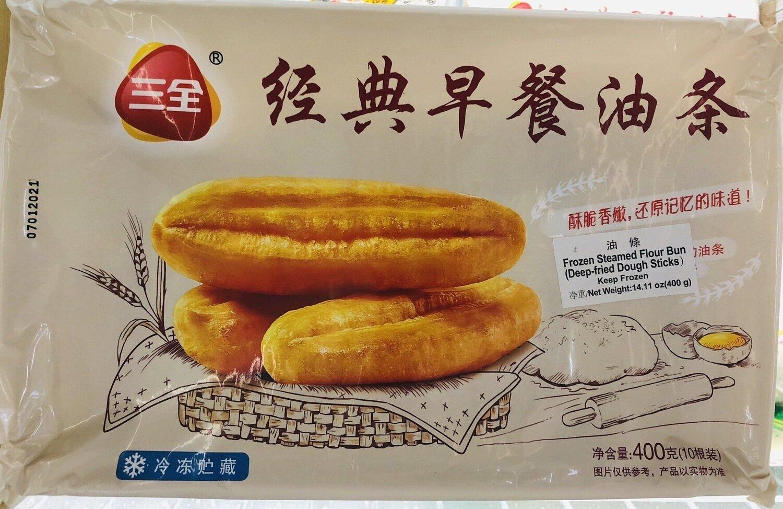 味全经典早餐油条 wei-chuan Frozen Steamed Flour Bun(Deep-fried Dough Sticks) ~400g(10条装)