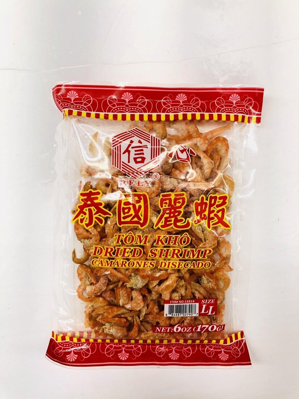 信心泰国丽虾 DRIED SHRIMP~6OZ