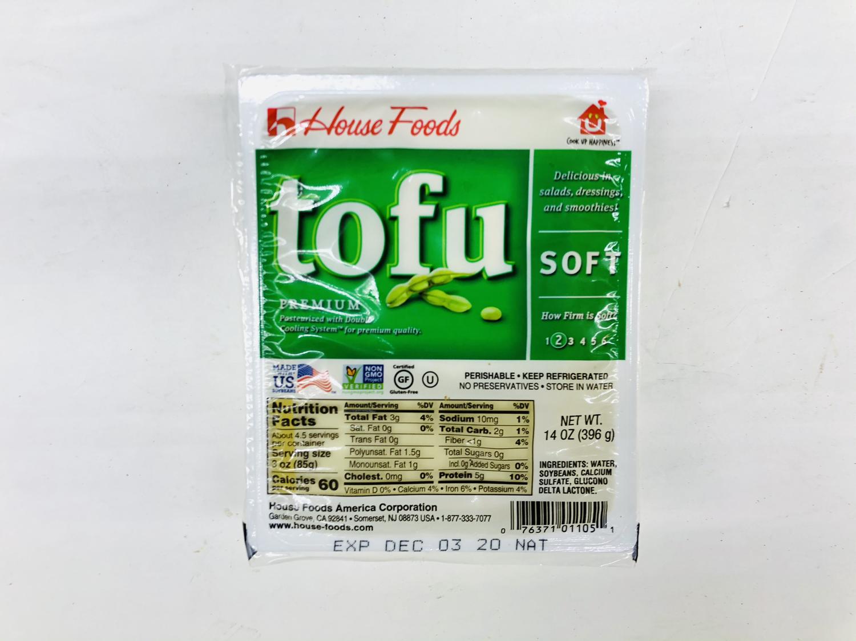 FZ【冷藏】❄House Foods 嫩豆腐 14OZ(396g)