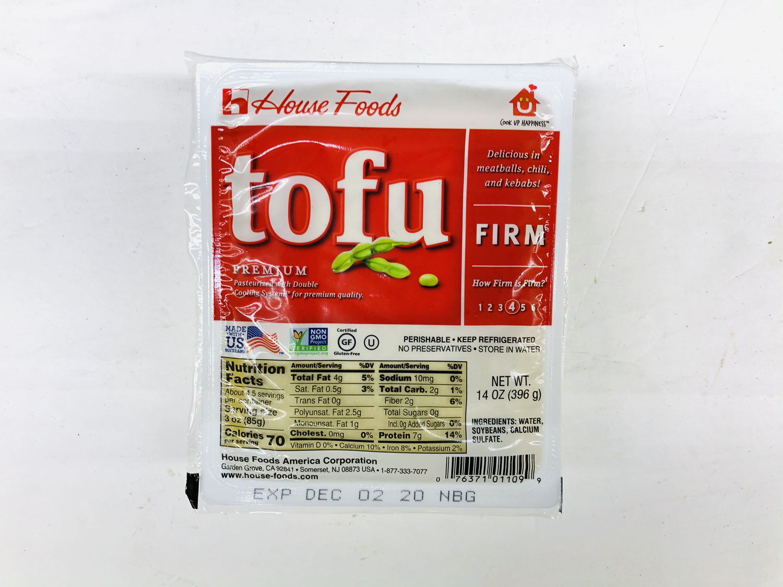 FZ【冷藏】❄House Foods 老豆腐 14OZ(396g)