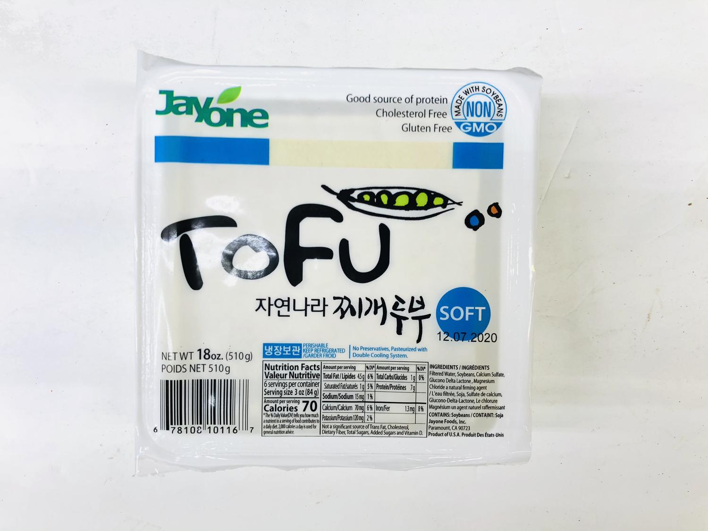 FZ【冷藏】❄Jayone 嫩豆腐 18oz(510g)