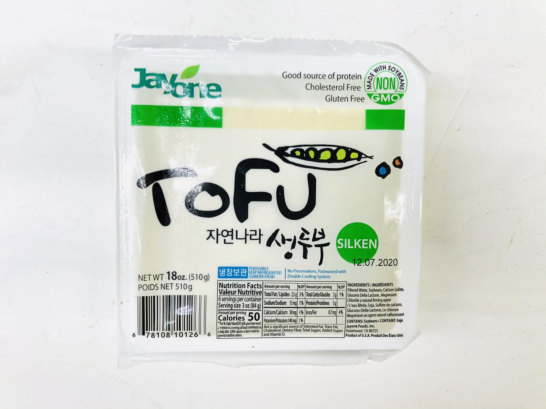 FZ【冷藏】❄Jayone 滑豆腐 18oz(510g)
