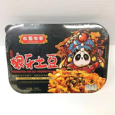 GROC【杂货】巴蜀世家 狼牙土豆(麻辣味) 自热型 286g