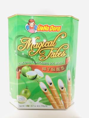 UeNo Dora 椰子味蛋卷 Coconut Flavoured Egg Rolls 24.7oz(700g)