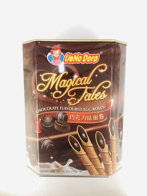 UeNo Dora 巧克力味蛋卷 Chocolate Flavoured Egg Rolls 24.7oz(700g)