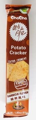 ChaCha咯吱脆烧烤风味 Potato Cracker EXTRA CRUNCHY BARBECUE FLAVOR~1.8oz(51g)
