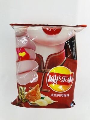 乐事咸蛋黄肉粽味 Lay's egg yolk flavor~70g