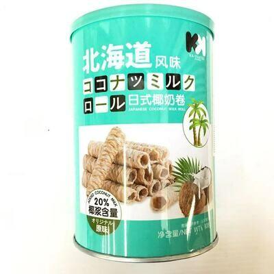 GROC【杂货】KK 日式椰奶卷 原味 108g