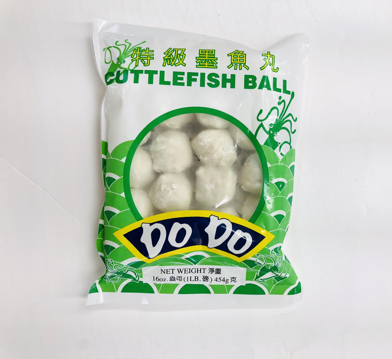 特级墨鱼丸DO DO CUTTLEFISH BALL DO DO 16oz(1LB)454g