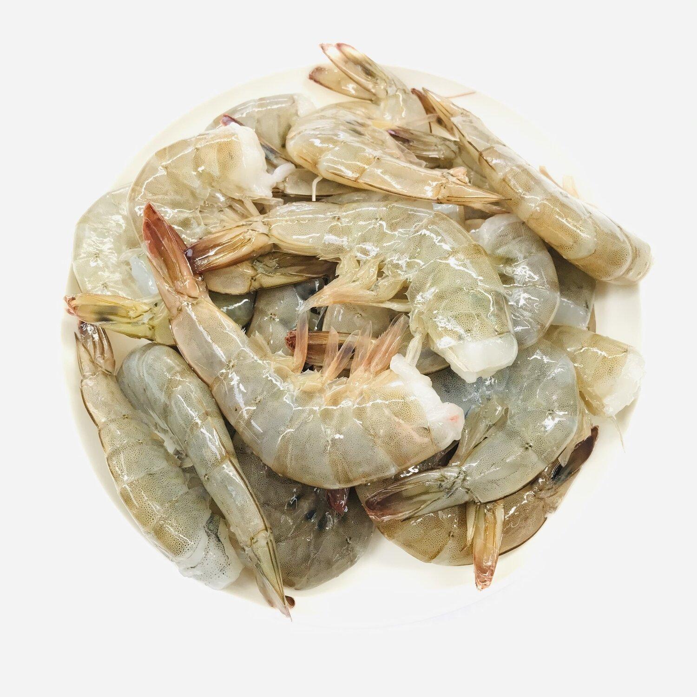 SEAF【海鲜】去头虾(Size16-20) ~1lbs