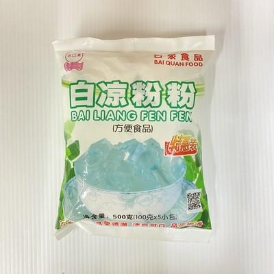 GROC【杂货】百泉食品 白凉粉粉 500g(100gX5)
