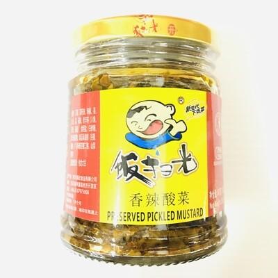 GROC【杂货】饭扫光 香辣酸菜 280g