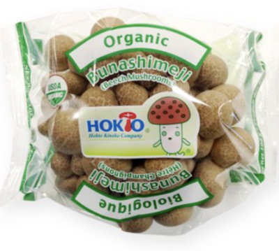 有机蟹味菇 ~100g Organic Bunashimeji(Beech Mushrooms) ~100g
