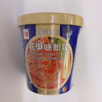 GROC【杂货】阿宽 酸辣味花甲味粉丝 92g