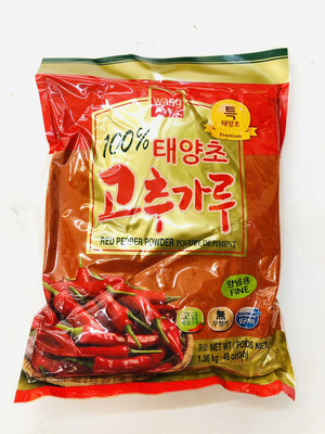 GROC【杂货】Wang KOREA 韩式辣椒粉(细) 1.36kg.48oz(3lb)