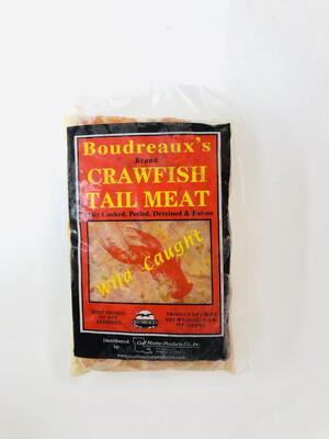 小龙虾肉 Boudreaux's Brand CRAYWISH TAIL MEAT 16oz(1-LB)454GRAMS