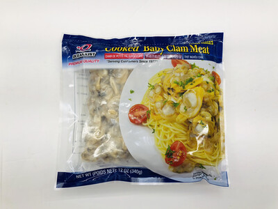 OCEANKIST 熟杂色蛤肉 Cooked Baby Clam Meat 12OZ(340g)