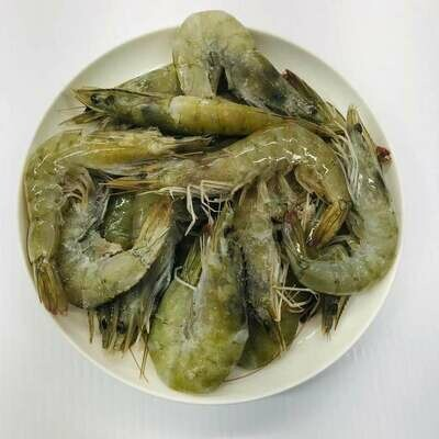 SEAF【海鲜】特价有头虾(Size30-40) ~1lbs