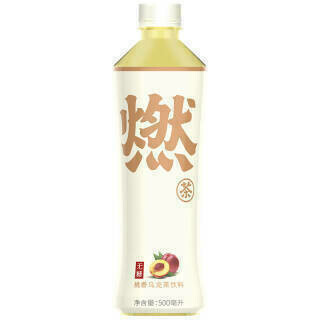 GROC【杂货】元气森林 桃香乌龙茶 16.9 FL OZ (500ml)