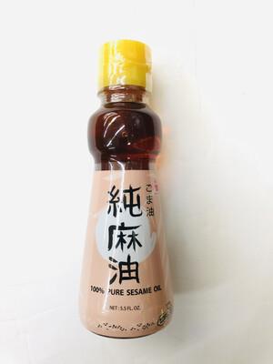 味全 日本纯麻油 WEI-CHUAN 100% PURE SESAME OIL 5.5LF.OZ.