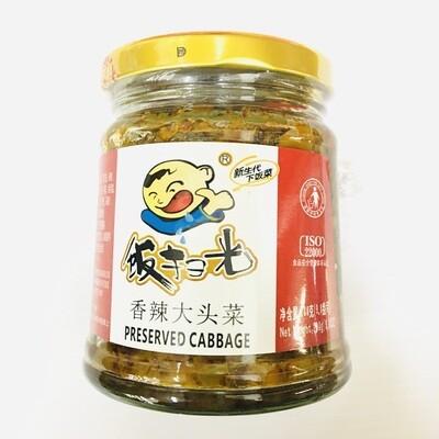 GROC【杂货】饭扫光 香辣大头菜 280g