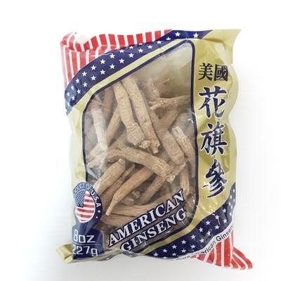 美国花旗参(袋装 未切片) ~227g(8oz) AMERICAN GINSENG ~227g(8oz)