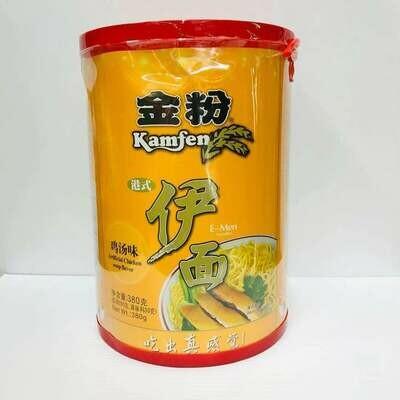 GROC【杂货】金粉 港式伊面 鸡汤味 380g