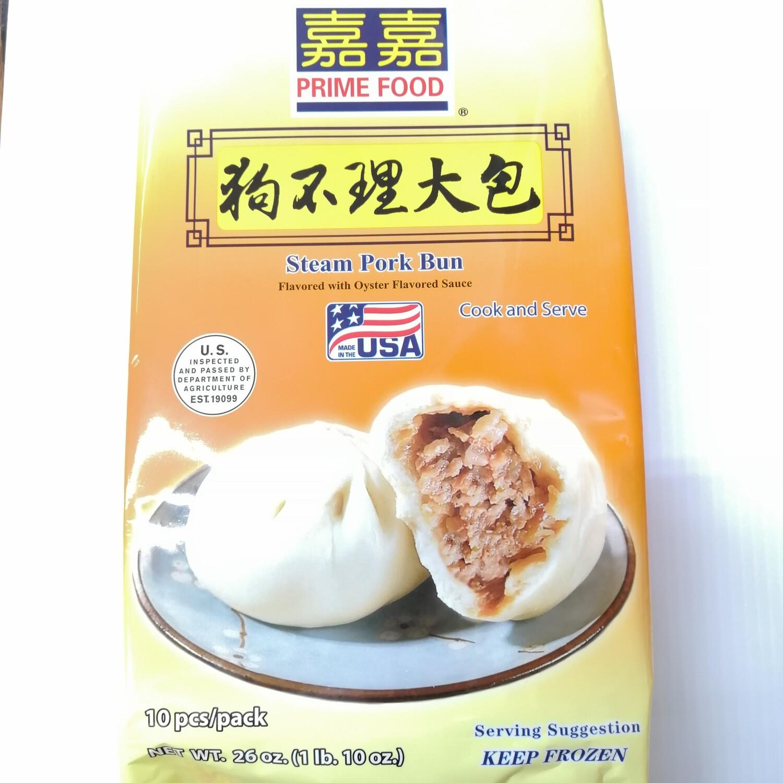 嘉嘉狗不理大包 Steam pork Bun ~1lb.10oz