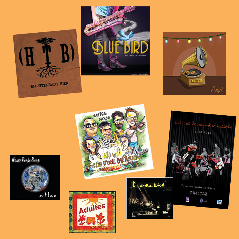 Pack albums Arc en Ciel