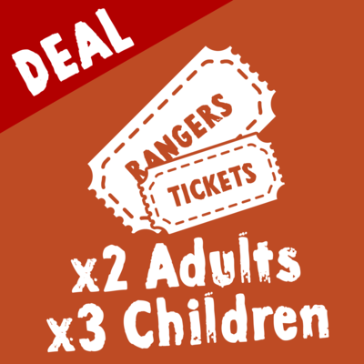 Wild Zoological Park RANGERS TICKETS X2 Adult Tickets + X3 Children Tickets ( Single Day Use )