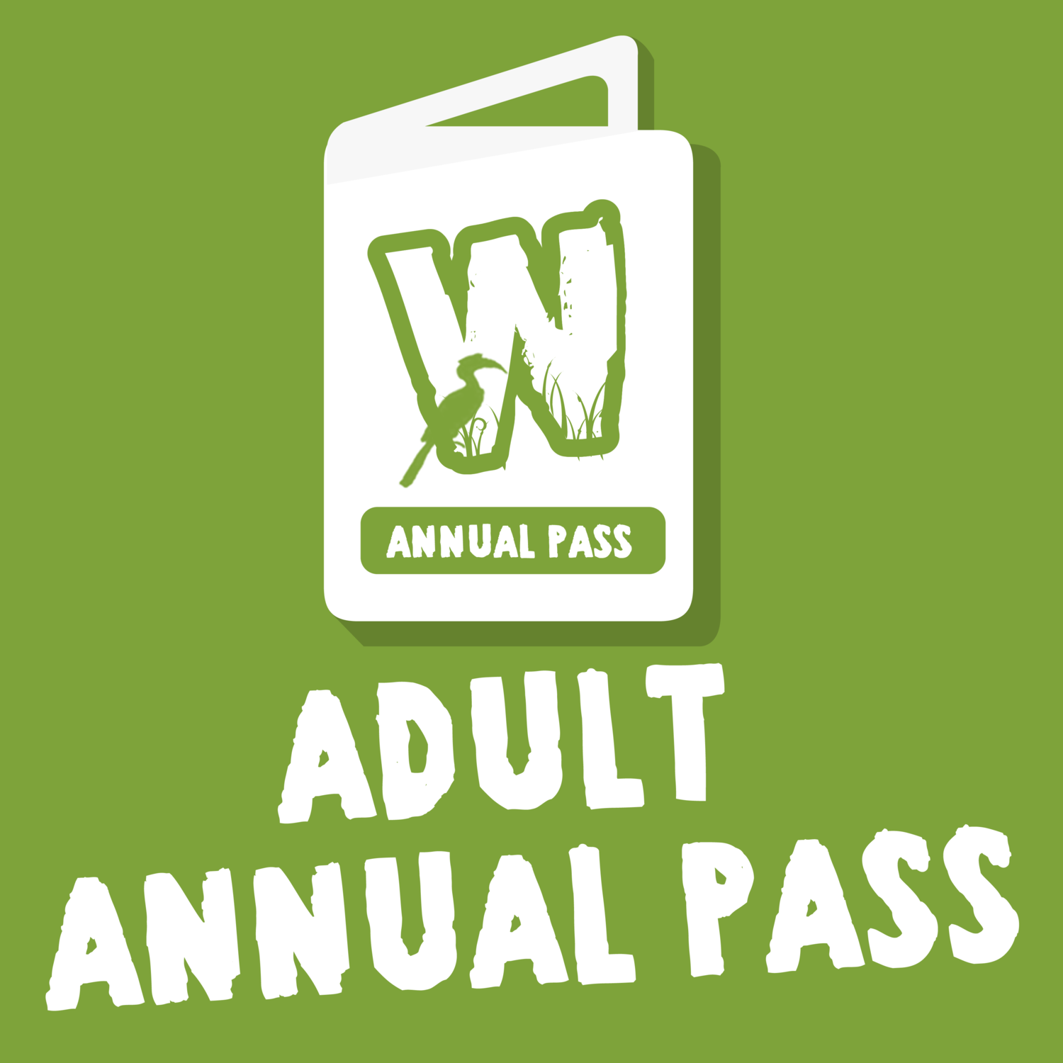 Wild Zoological Park X1 Adult ANNUAL PASS