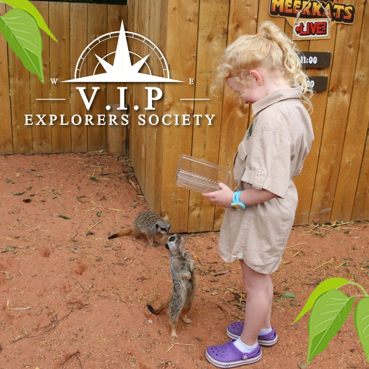 Zoo Keeper Experience ( 1 Hour ) V.I.P Session