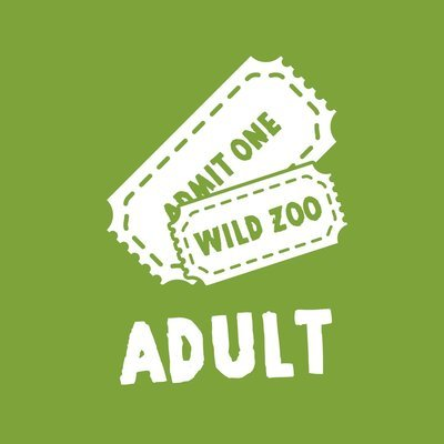 Wild Zoological Park X1 Adult Ticket ( Single Day Use )