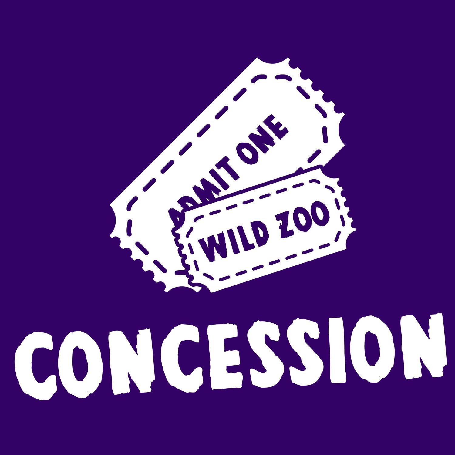 Wild Zoological Park X1 Concession Ticket ( Single Day Use )