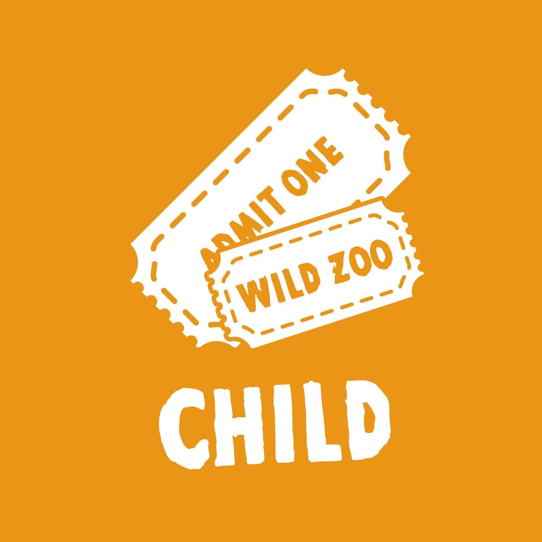 Wild Zoological Park X1 Child Ticket ( Single Day Use )