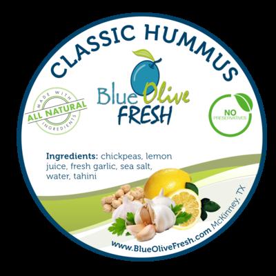 Classic Hummus - 8 oz