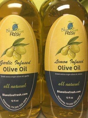 Lemon Infused Olive Oil