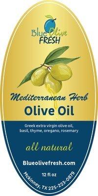 Mediterranean Herb Infused Olive Oil