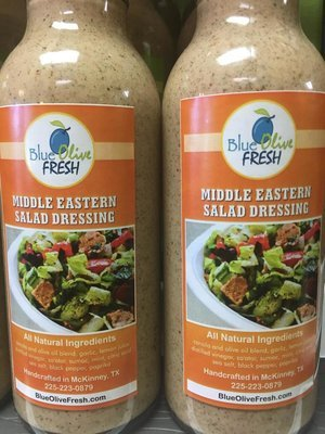 Middle Eastern (Fattoush) Dressing