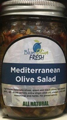 Mediterranean Olive Salad