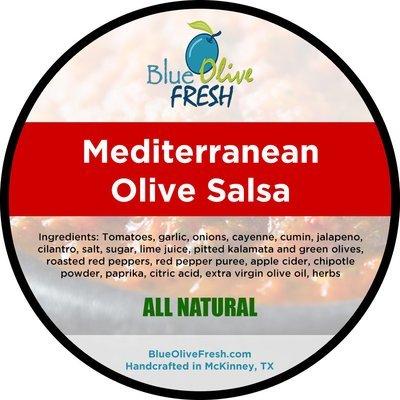 Mediterranean Olive Salsa