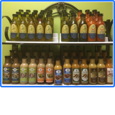 Line of Blue Olive Fresh Products
