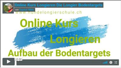 Online Longierkurs Vorbereitung Aufbau der Bodentargets K001