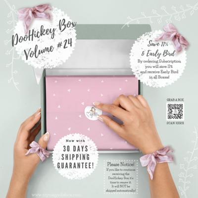 SOLD OUT! DooHickeyBOX Volume 24 {Blossom & Lace}
